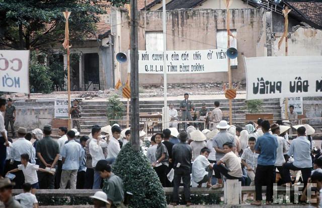 Bình Dương 1966 - Vietnam Elections - Bầu cử QH Lập Hiến 11-9-1966