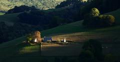 Campan (Hautes-Pyrénées, Haut-Adour, Fr) – Fin de journée