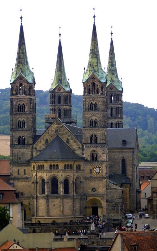 56 Собор св_Петра и св_Георгия в Бамберге, XI-XIII вв.