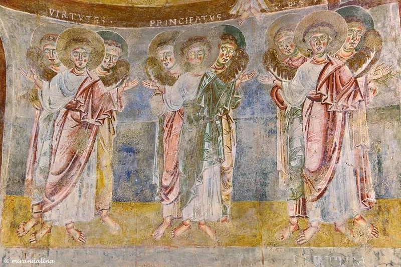76 Церковь Сан-Пьетро-аль-Монте, роспись