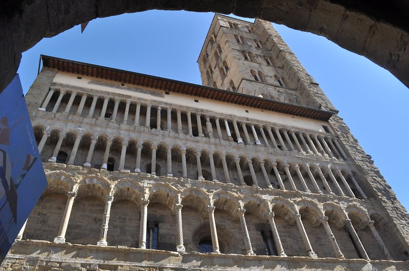 78 Церковь Санта-Мария дела Пьеве, Ареццо XII в