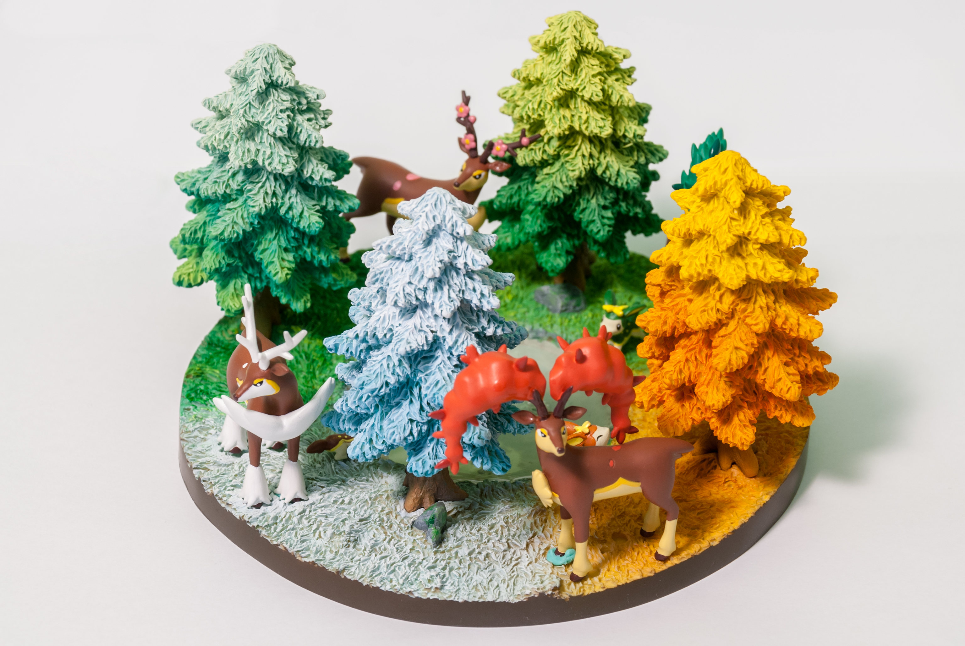 King Studio 14: 4 x Deerling / 4 x Sawsbuck