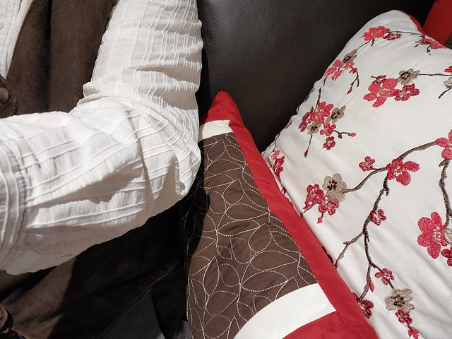 matching the pillows