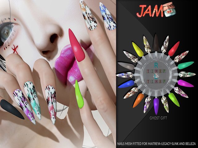 JAM-Nails GhostGift