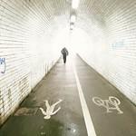 Tunnel to National Railway Museum, York