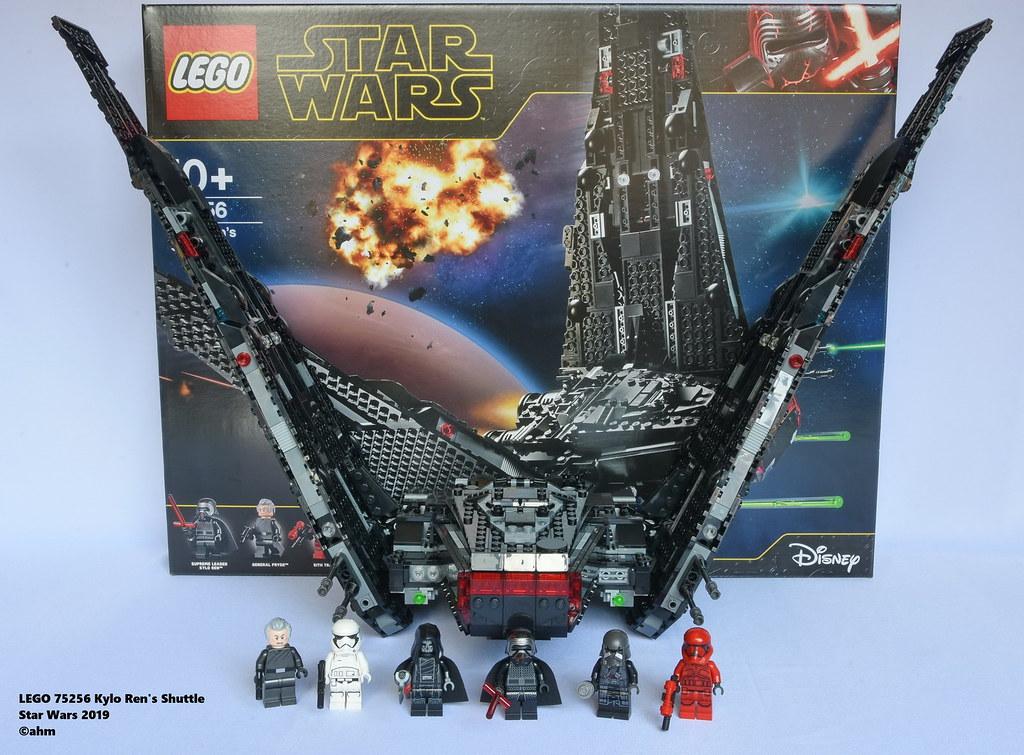 Star Wars Lego 75256 Kylo Ren S Shuttle Lego 75256 Kylo Re Flickr