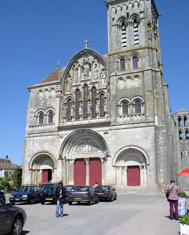 09 Базилика Везле Бургундия 1104-1132