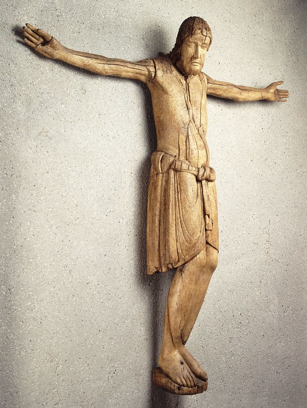 55в Вестфальский крест епископа Бернварда  992-1023г. Германия. Зальцгиттер. XI в