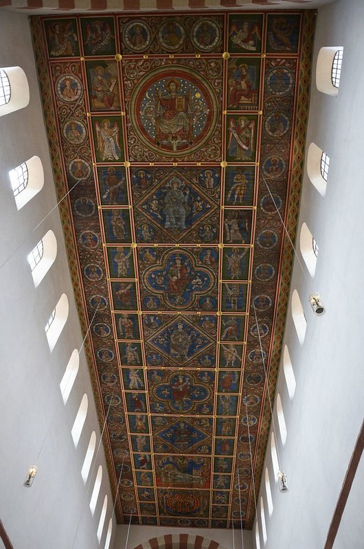 49 Базилика св_Михаила Роспись потолка Древо Иессеево 1220-1240