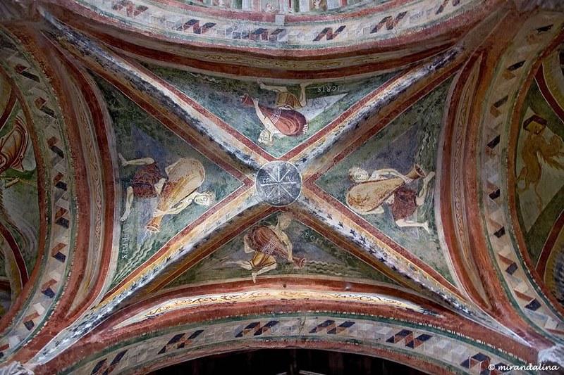 74 Церковь Сан-Пьетро-аль-Монте, четыре райских реки