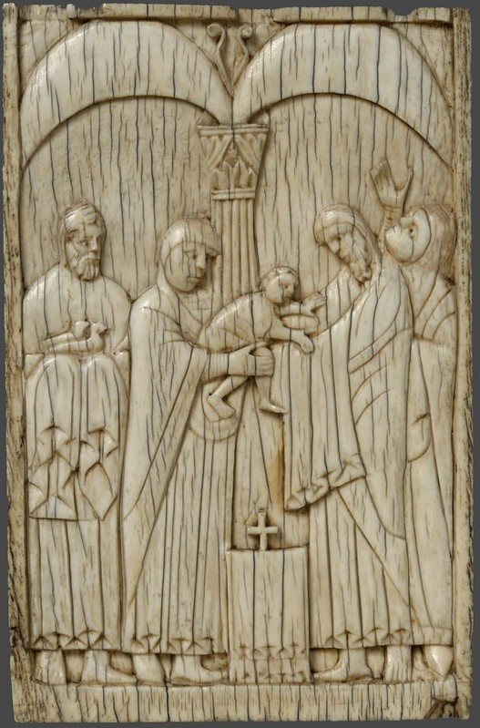77а Сретение Господне; Италия. Амальфи (возможно Солерно) XI в