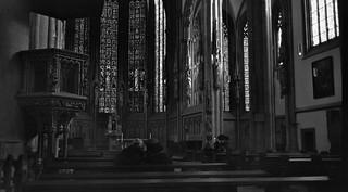 In der Kirche - I shot film