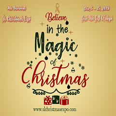Magic Of Christmas - 2019 Gold - SL Christmas Expo  Kiosk Poster 512 x 512