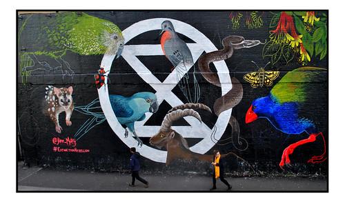 STREET ART by JANE MUTINY.