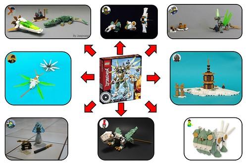 70676 Lloyd's Titan Mech Alt-Build Challenge