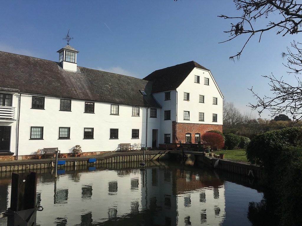 Former mill, Hambleden Lock Henley via Hambleden walk