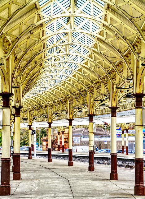 Wemyss Bay Railway Station , Scotland