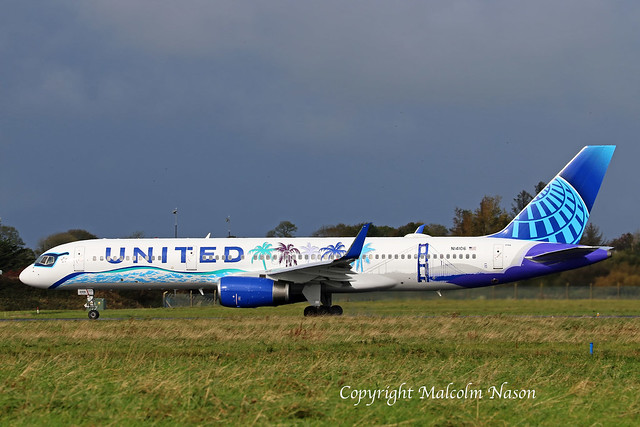 B757 N14106 UNITED Special colours 4
