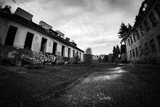 Lost Places, Old post-Soviet hospital, Biggest in Poland, Legnica