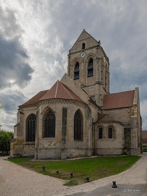 Église d'Auvers sur Oise - Val d'Oise 95 France