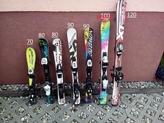 dětské lyže - titulní fotka
