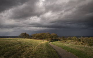 Before the Storm, Dunstable Downs