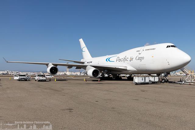 N703CK Pacific Air Cargo (Kalitta Air) Boeing 747-412(BCF) (KLAX - LAX - Los Angeles)