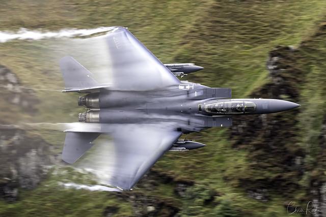 F-15E, Wales