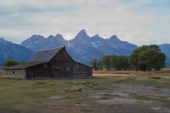 """T. A. Moulton Barn, aka """"the most photographed barn in America"""". 19th September, 2019."""