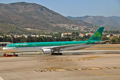 EI-DUZ Airbus A.330-302 Aer Lingus Named St Aoife  Aoife AGP 03-09-19