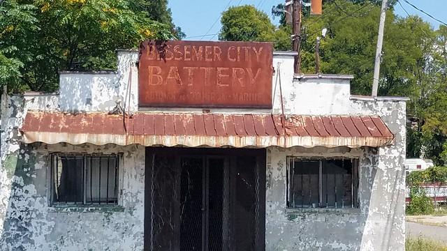 Bessemer City Battery bldg.