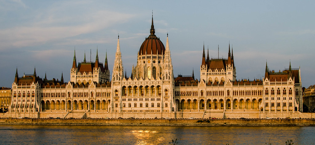 Hungary, Budapest - Parlament