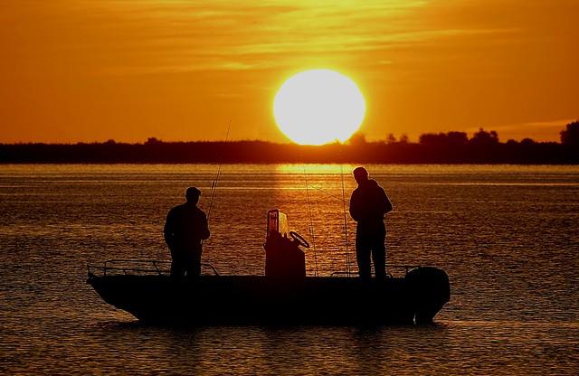 La pêche au petit matin