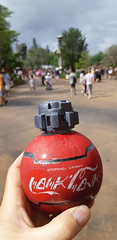 Star Wars Coca Cola bottle, Galaxy's Edge, Hollywood Studios