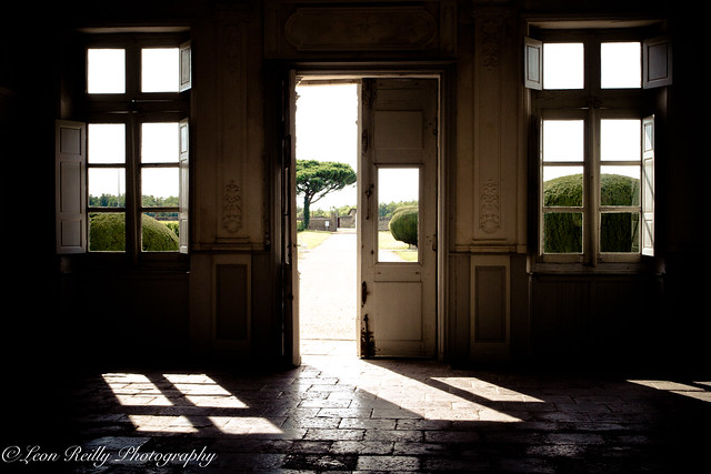 Exit through the vineyard, Chateau Cerons