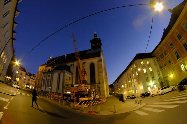 XE3F1111 - Catedral de Graz - Graz Cathedral - Grazer Dom