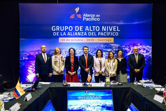 En Santiago: Grupo de Alto nivel de la Alianza del Pacífico dialoga sobre agenda de futuro