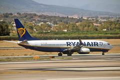 EI-FTG Boeing 737-8AS Ryanair AGP 03-09-19
