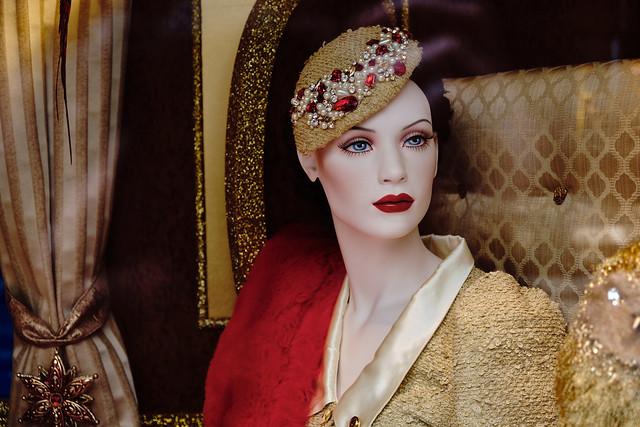 Elegant Shop Window Mannequin