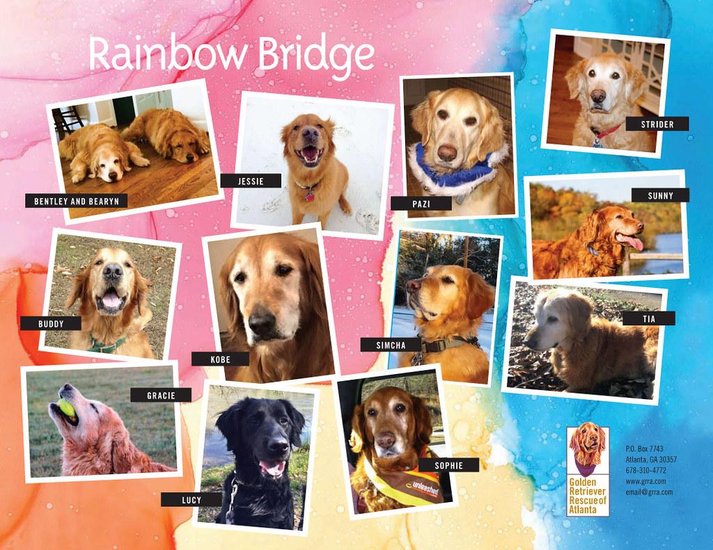 2020 GRRA Calendar - Rainbow Bridge