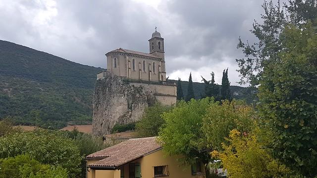 Pierrelongue, Chapelle Notre Dame de la Consolation, Auvergne-Rhone-Alpes, France