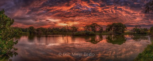 panoramic panoimages3 hdrpanoramic hdr sunrise sunriselovers reflections lake fireinthesky clouds skypainter skyporn skycandy