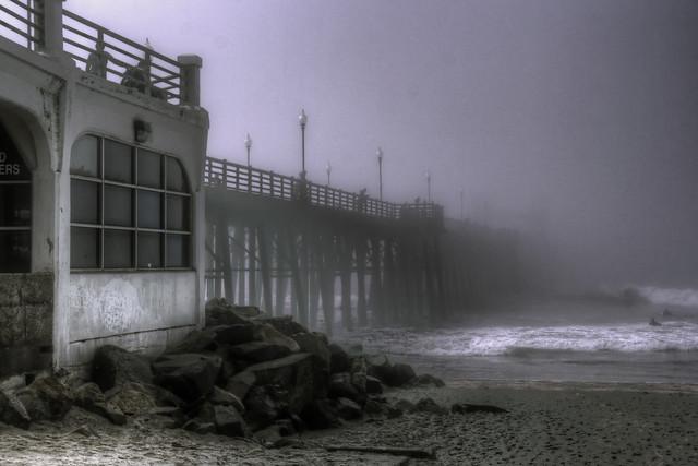 Foggy Pier Morning 01-10-16-19
