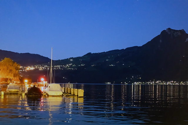 Lake Thun at Night
