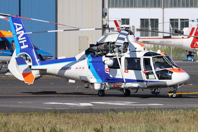 JA64NH  -  Eurocopter AS365N2 Dauphin  -  All Nippon helicopters  -  RJTI 9/10/19