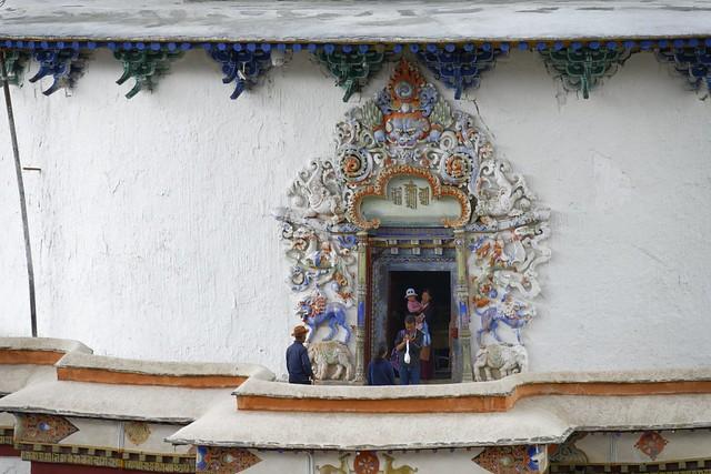Kumbum chorten in Gyantse, Tibet 2019