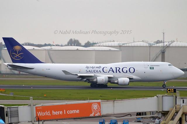 Saudi Arabian Cargo TF-AMN Boeing 747-4F6BDSF cn/27602-1161 lsd from Air Atlanta Icelandic 5 May 2015 - 18 Jun 2018 @ EHAM / AMS 08-11-2015