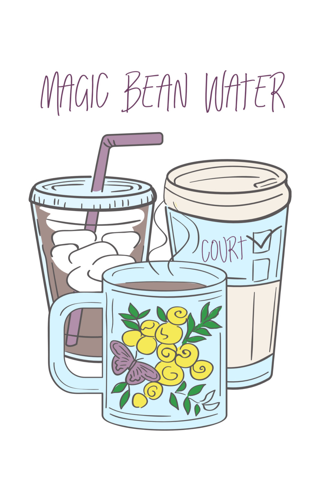 Magic Bean Water for blog