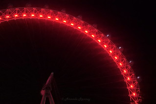 The Red London Eye