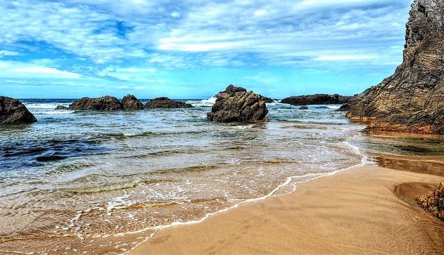 Playa La Franca. Asturias.